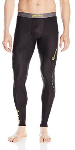Skins Dnamic Long Tights długie kalesony męskie, czarny, S
