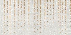 Opoczno Art Mozaika 29,7x60 Złoty Geo
