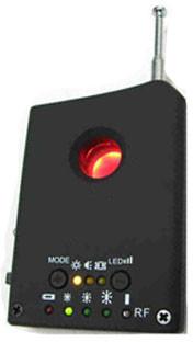 Laserowy wykrywacz podsłuchów, kamer przewodowych i bezprzewodowych,