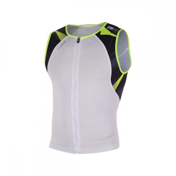 ZEROD Koszulka triathlonowa uSinglet Neon