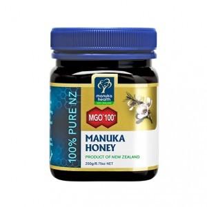 Manuka Health Limited Miód Manuka MGO 100+ Nektarowy 250g MM100250