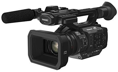 Panasonic HC-X1E profesjonalny Camcorder, 24P (4K UHD 60p/50p, FHD 60p/50p, 24MM Obiektyw Leica Dicomar, wbudowany wizjer OLED, 8,9cm Wide LCD,  filtr ND, 2wejścia XLR, 2SD Slots) czarna HC-X1E