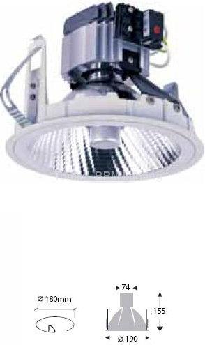 BPM Lighting Oczko halogenowe BPM 8075 230V CDM-T 150W