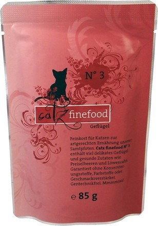 Catz Finefood N.03 Drób Saszetka 85g 5081