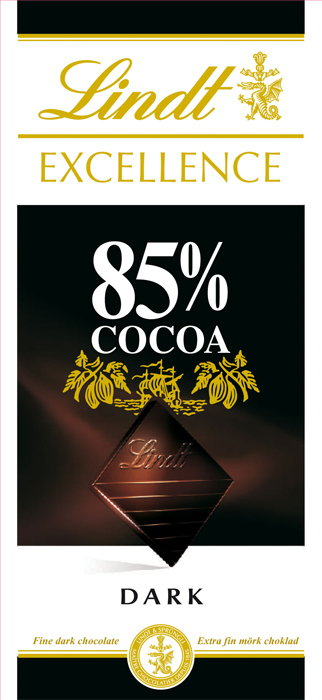 Lindt Excellence 85% Cacao 100g