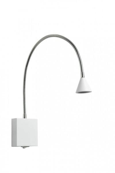 Lucide BUDDY lampa ścienna LED Biały, 1-punktowy 18293/03/31