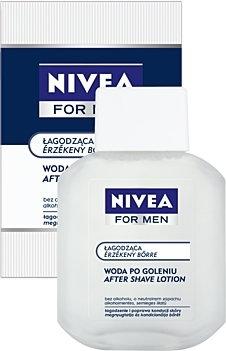 Nivea Sensitive: Łagodząca woda po goleniu 100ml