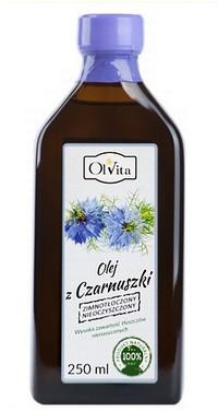 Olvita Olej z czarnuszki zimnotłoczony nieoczyszczony 250ml