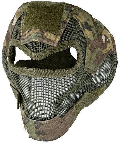 Opinie o ULTIMATE Tactical Pełna maska stalowa V7 - multicam (MAS-62-MUL) G