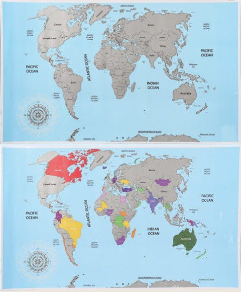 Opinie o Mapa do ścierania
