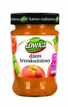 Łowicz DŻEM N/S BRZOSKWINIOWY 280 G