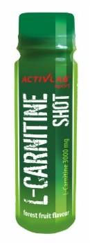 Activita b L-Carnitine Shot. O Smaku Owoców Leśnych (Buteleczka 80 Ml) - Zakupy Dla Firm. Activ/T032.