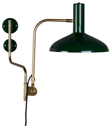 Dutchbone : Lampa ścienna DEVI zielona 5400008