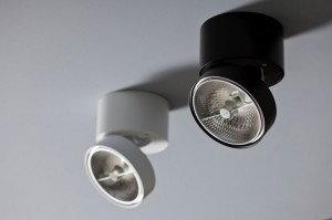Labra GEIT NT 1 Reflektor pojedynczy Aluminium , biały , czarny , czerwony , mieszany 3-0118