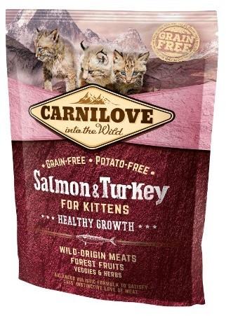 Carnilove Cat Salmon&Turkey For Kittens 0,4 kg