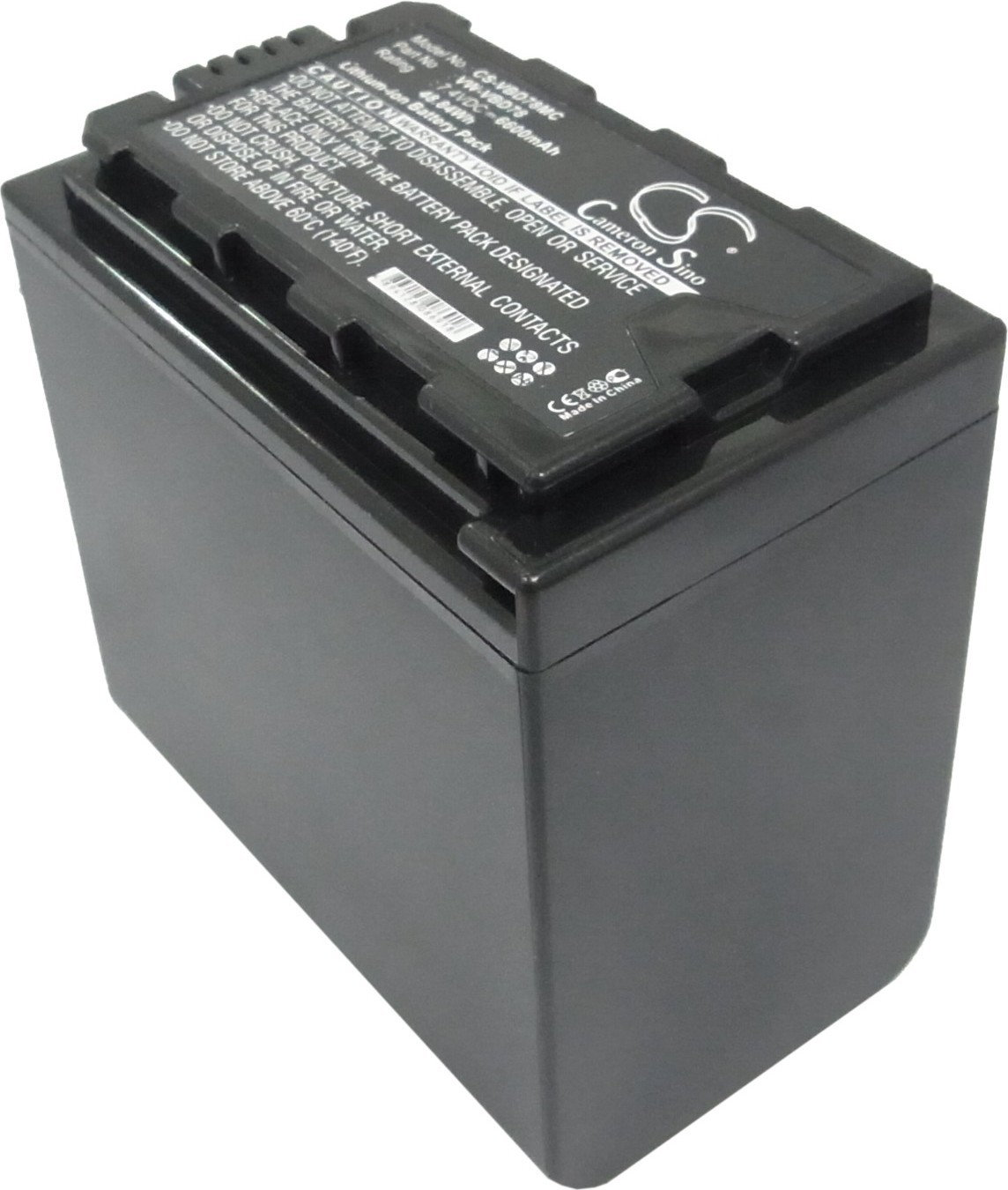 Panasonic AJ-PX298MC / VW-VBD78 6600mAh 48.84Wh Li-Ion 7.4V (Cameron Sino) CS-VB (CS-VBD78MC)