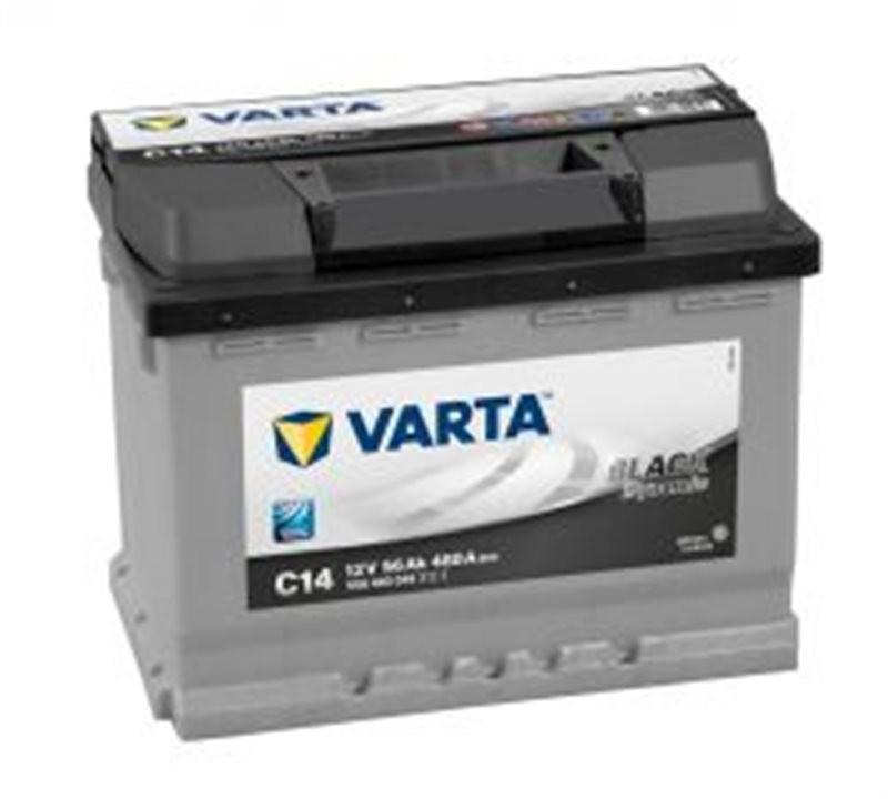 Varta BLACK dynamic C14 56Ah BLACK dynamic 556400048