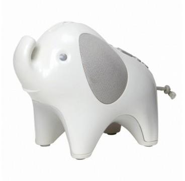 Skip Hop lampka projektor Słoń z lampką i pozytywką