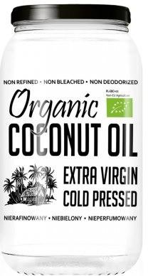 Diet-Food Olej Kokosowy Organiczny Virgin Nierafinowany 1L MIPOLEJKO1000
