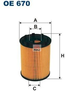 Filtron Filtr oleju OE670