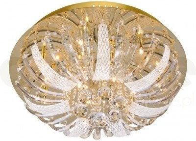 Leuchten Direkt Plafon Sylla 10xG4 14W LED polerowany mosiądz 50382-10