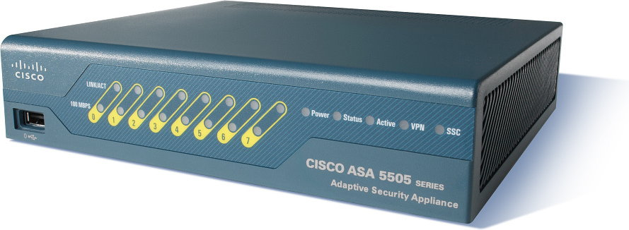 Opinie o Cisco ASA 5505 Appliance with SW, 50 Users, 8 ports, 3DES/AES