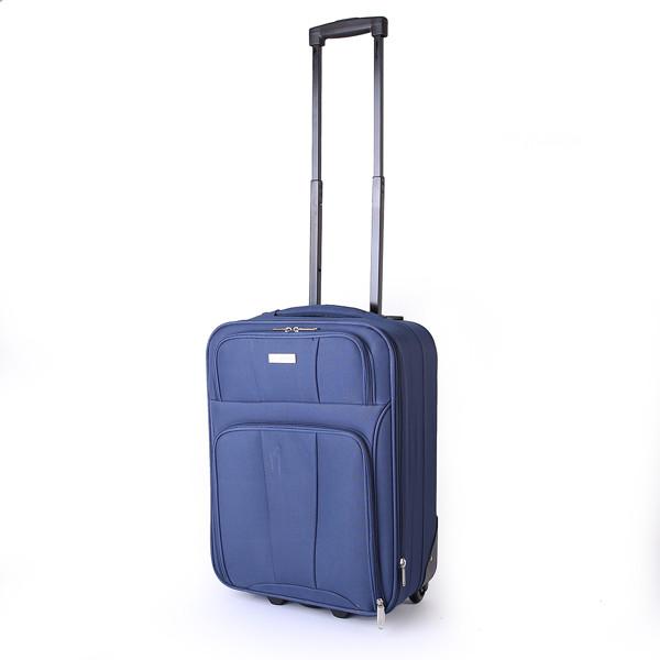9b02aa4220dd8 Sumatra Walizka mała walizka kabinowa, poszerzana, Kalk Bay 6021 C  granatowy 2 kółka