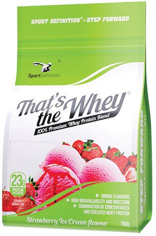 Whey Strawberry 700g (5904730790413)