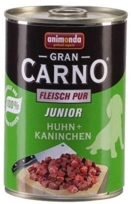 Animonda Grancarno Junior Huhn Kaninchen Kurczak + Królik Puszka 800G