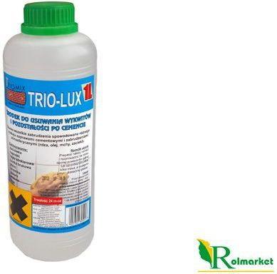 Opinie o Trio-lux 1l na zewnątrz ? preparat na wykwity wapienne i pozostałości po cemenci