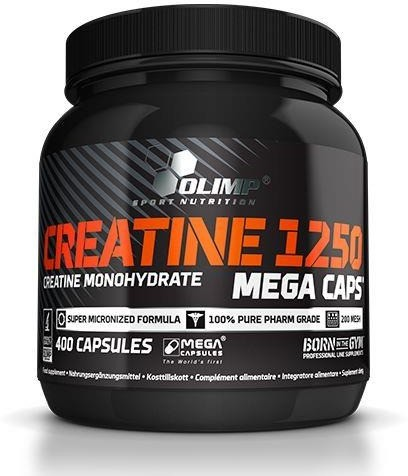 Olimp Creatine 1250 Mega Caps 400 kaps (1542-1)