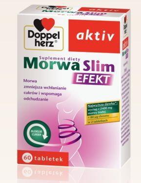 Queisser Doppelherz Aktiv Morwa Slim Efekt 60 szt.