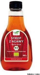 Bio Planet SYROP Z AGAWY BIO 660 g (478 ml) - 5907814660329