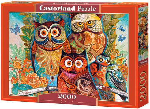 Castorland Puzzle Owls 2000