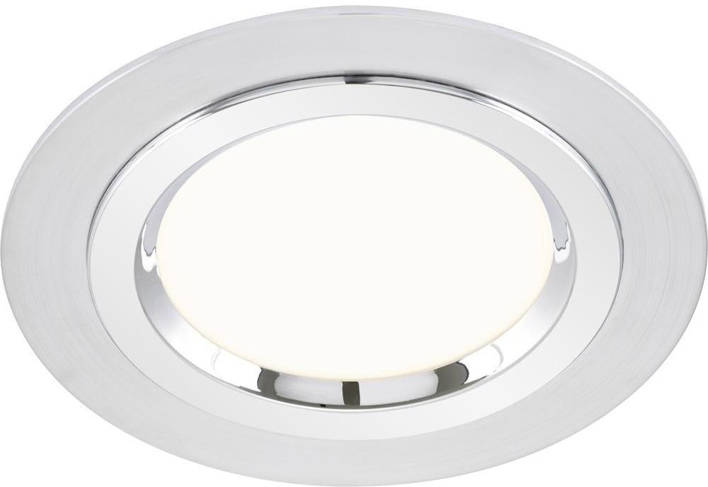 Briloner Lampa łazienkowa LED do zabudowy 7262019 1000 lm 3000 K aluminiowy chrom