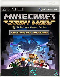 Opinie o   Minecraft Story Mode The Complete Adventure PS3