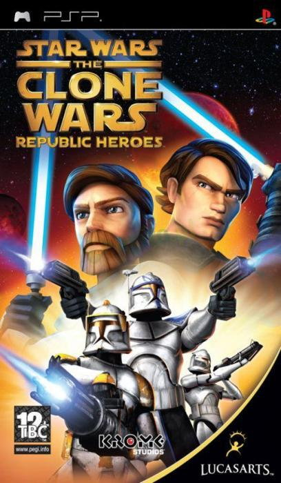 Star Wars The Clone Wars Republic Heroes PSP