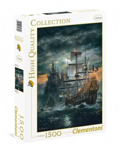 Clementoni Puzzle 1500 el. HQ Statek piracki 31682 CLE31682