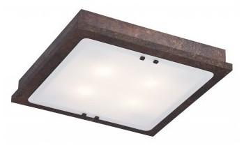 Argon Plafon 4X60W E27 50x50cm rdzawy beton TEQUILA 1590 ARGON/PREZENT