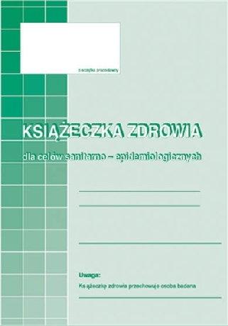 Opinie o MICHALCZYK&Prokop Książeczka zdrowia dla celów epidemiologicznych A6