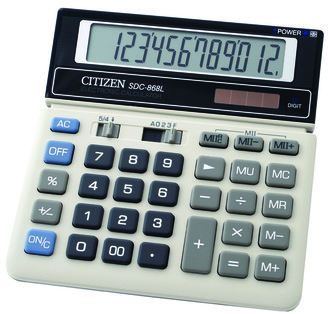 CITIZEN KALKULATOR SDC-868L zakupy dla domu i biura SDC-868L