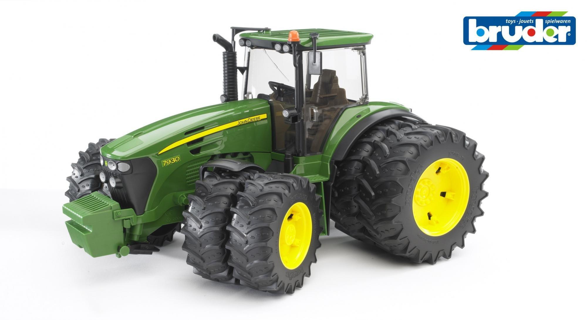 Bruder Traktor John Deere 9730, podwójne koła