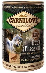 Carnilove Wild Meat Duck & Pheasant Adult - Kaczka I Bażant Puszka 400G