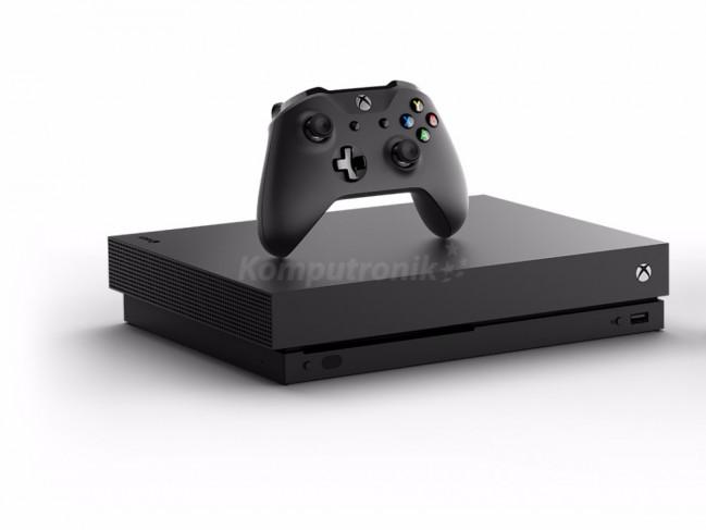 Opinie o Microsoft  Xbox One x  1TB Project Scorpio + Podstawka + Konwerter HAMA Speedshot Ultimate mysz/klawiatura + Gra XBOX ONE Minecraft Favorites FMP-00010