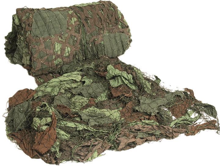 Mil-Tec Demobil Siatka Maskująca 4,5x4,5 m Czeski Woodland