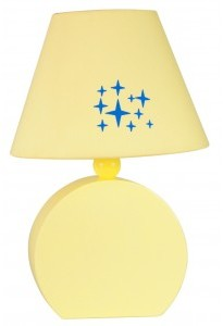 Candellux OFELIA LAMPKA GAB MDF 1X40W E14 ŻÓŁTA 41-62492