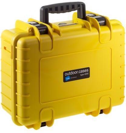 B&W International Outdoor-Case Type 400 - Walizka na sprzęt foto-video 4000/Y/RP (4000/Y/RPD)
