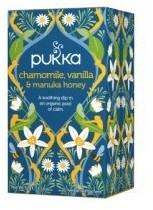 Pukka - herbaty PUKKA Chamomile Vanilia i Manuka Honey