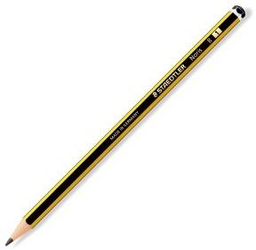 Noris Ołówek biurowo - szklony drewniany B 120-1 STAEDTLER (drewno cedrowe)