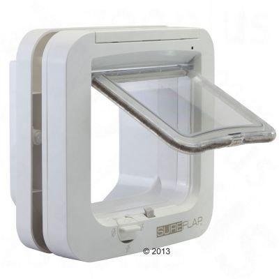 Opinie o SureFlap Drzwi z mikrochipem - Wymiary: 21 x 21 cm, białe